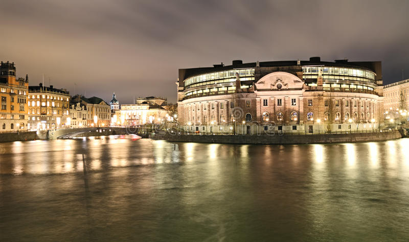 Download Swedish Parliament stock photo. Image of blurred, motion - 25199986