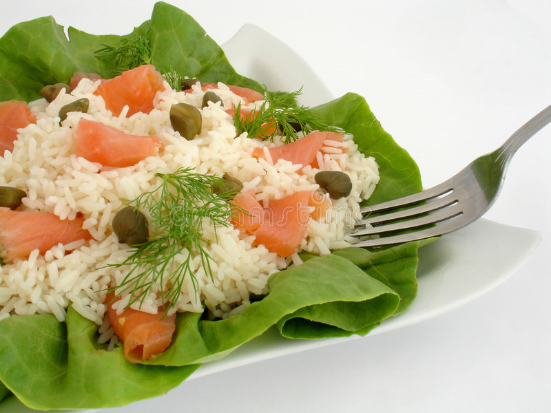 Download Swedish salad stock image. Image of nutrition, fish, lunch - 773497