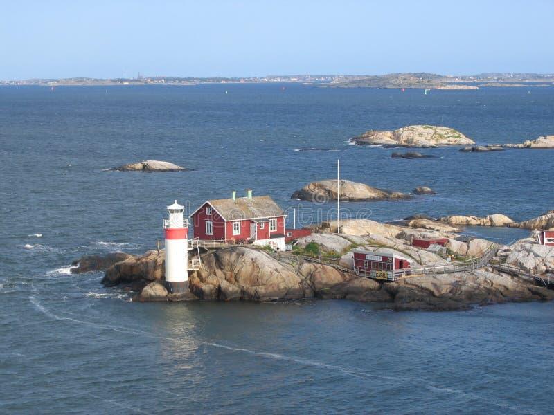 Download Swedish skerry stock image. Image of ocean, skerry, water - 5420895
