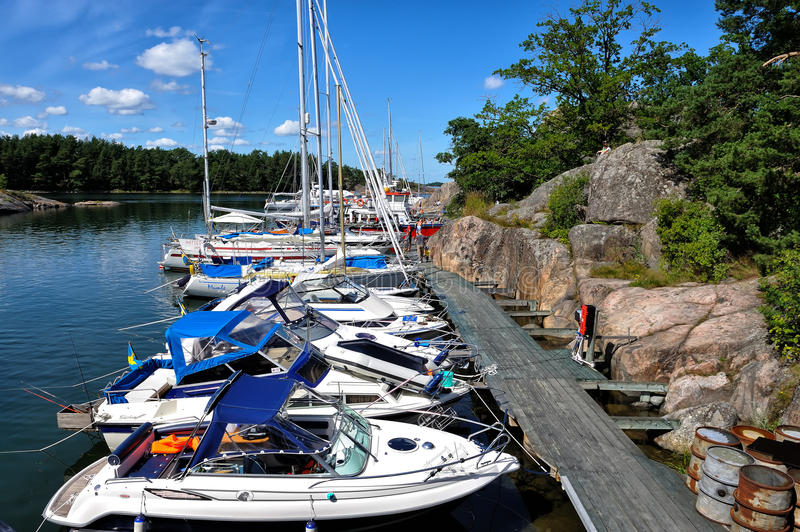 Download Swedish summer editorial photography. Image of boat, leisure - 27646902