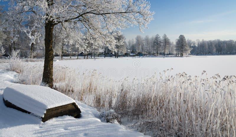 Download Swedish Winter Panorama Landscape Stock Photo - Image: 28771778