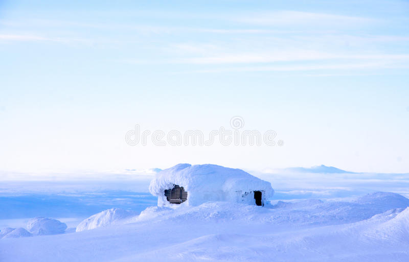 Download Swedish Winterhouse With A View Stock Image - Image: 37275633