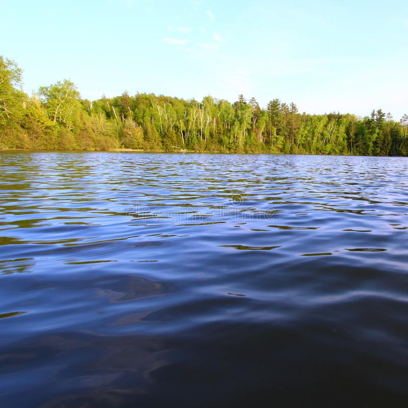 Sweeney Lake - Wisconsin royalty free stock image