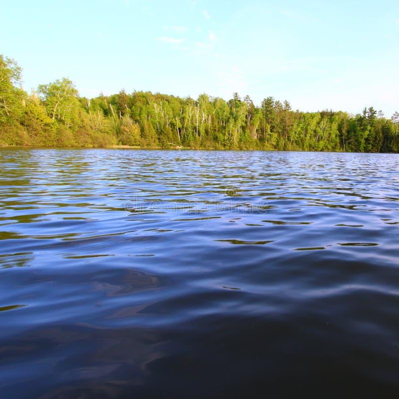 sweeney wisconsin озера стоковое изображение rf