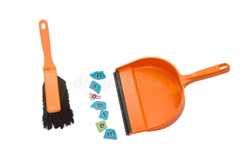 Download Sweeping problem. stock image. Image of basket, clipping - 20537913