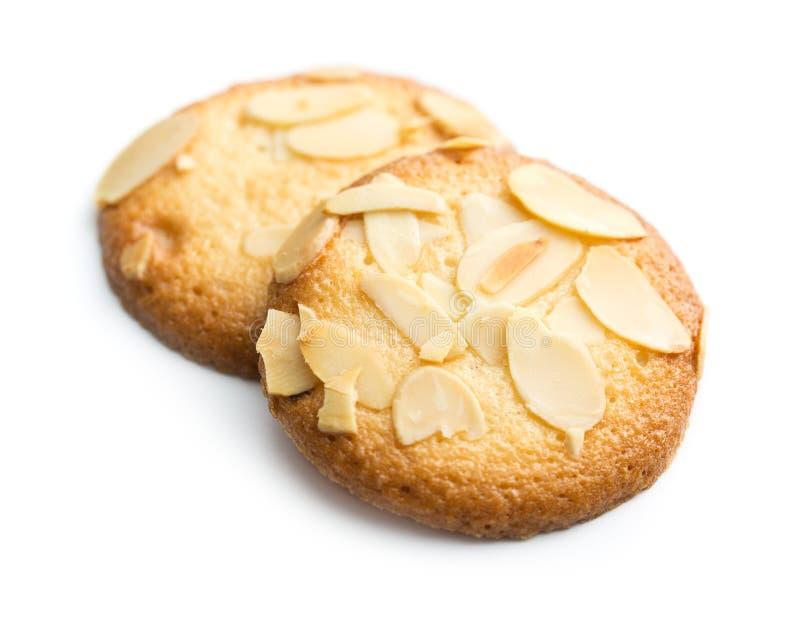 Sweet almond cookies. stock photography