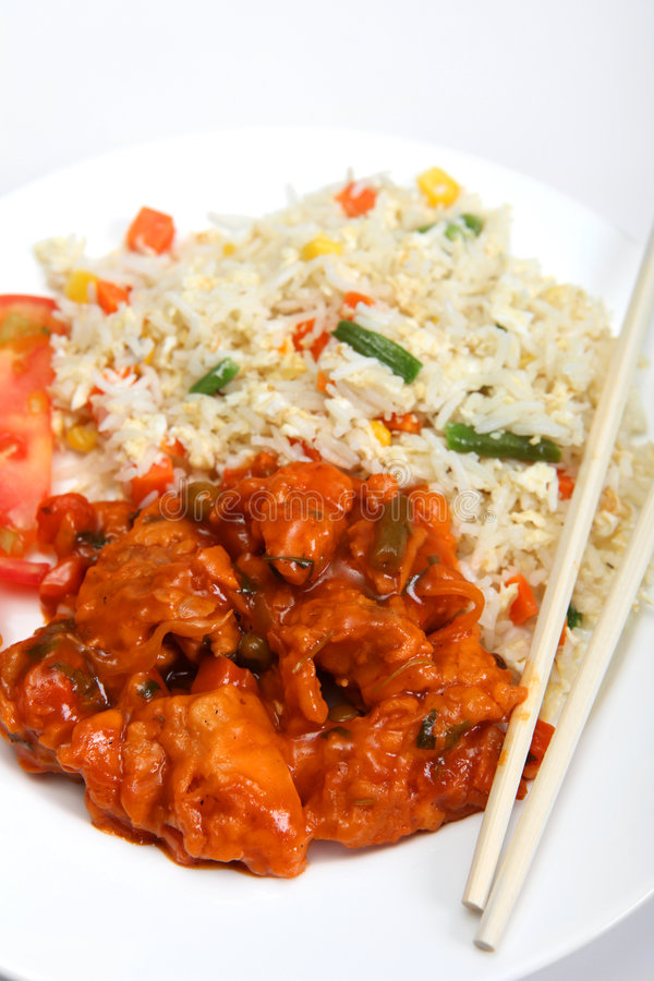 Free Sweet And Sour Chicken Stock Photo - 8517770