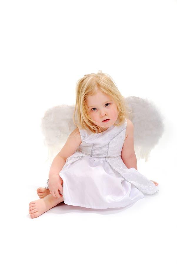Sweet Angel Resting royalty free stock photo