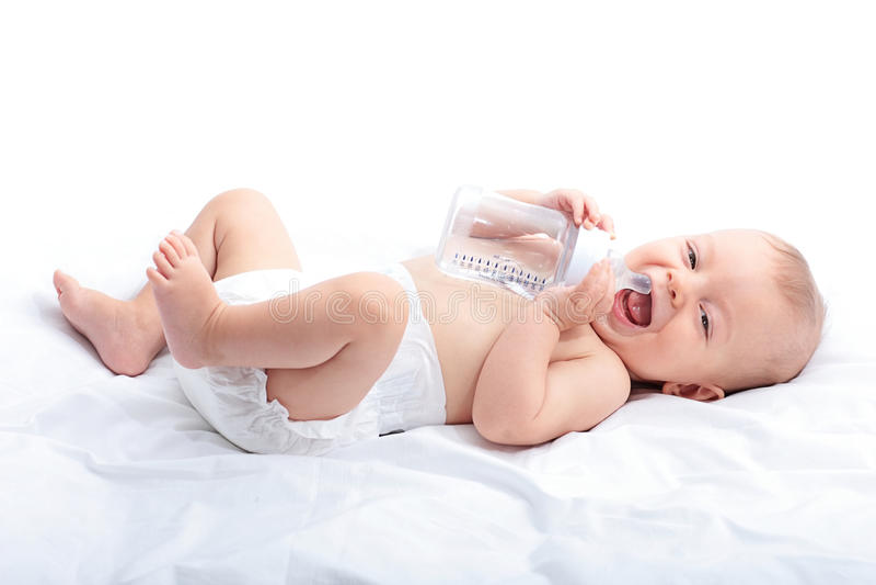 Sweet baby royalty free stock photos