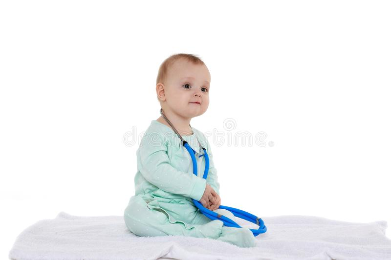 41ef3531fb76b Baby Wearing Stethoscope Stock Images - Download 175 Royalty Free Photos