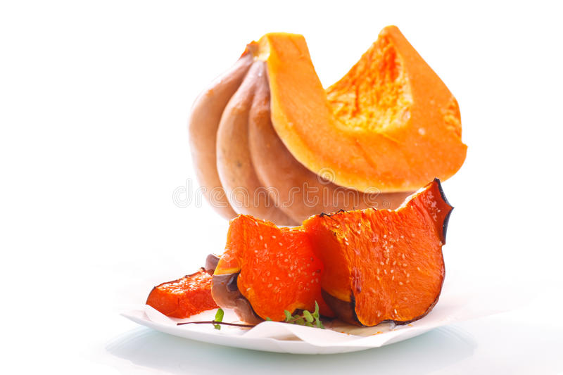 Download Sweet baked pumpkin stock photo. Image of healthy, appetizer - 83703736