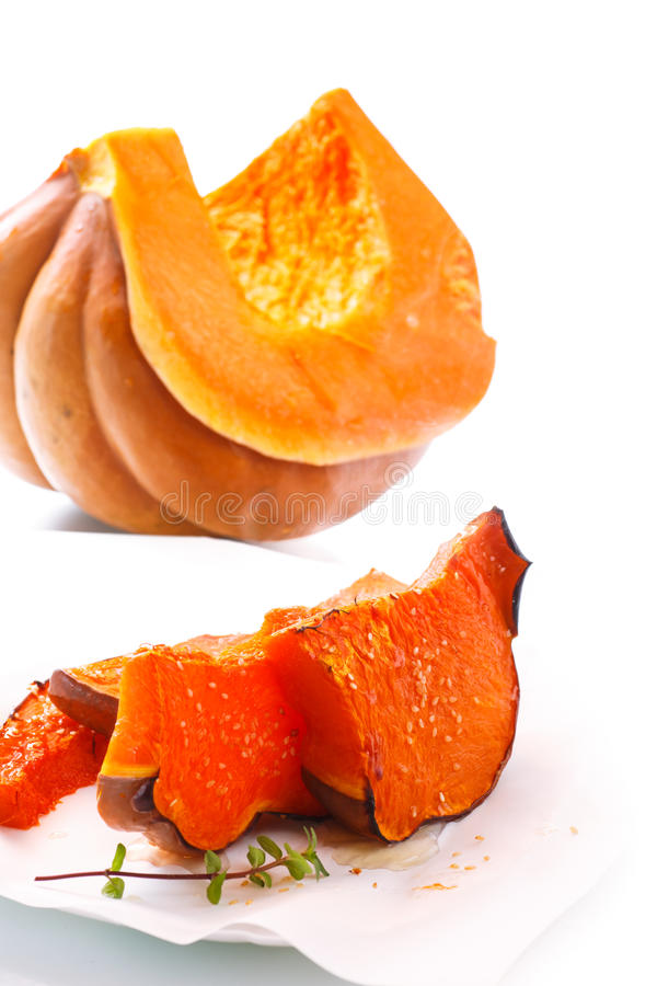 Download Sweet baked pumpkin stock photo. Image of autumn, cooked - 83704592