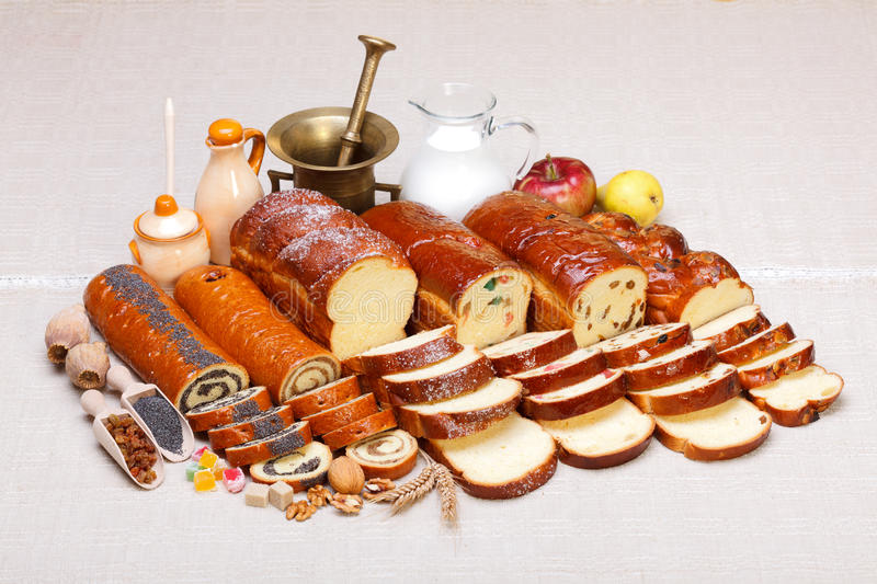 Download Sweet Bakery Products Lineup Stock Image - Image: 27384169