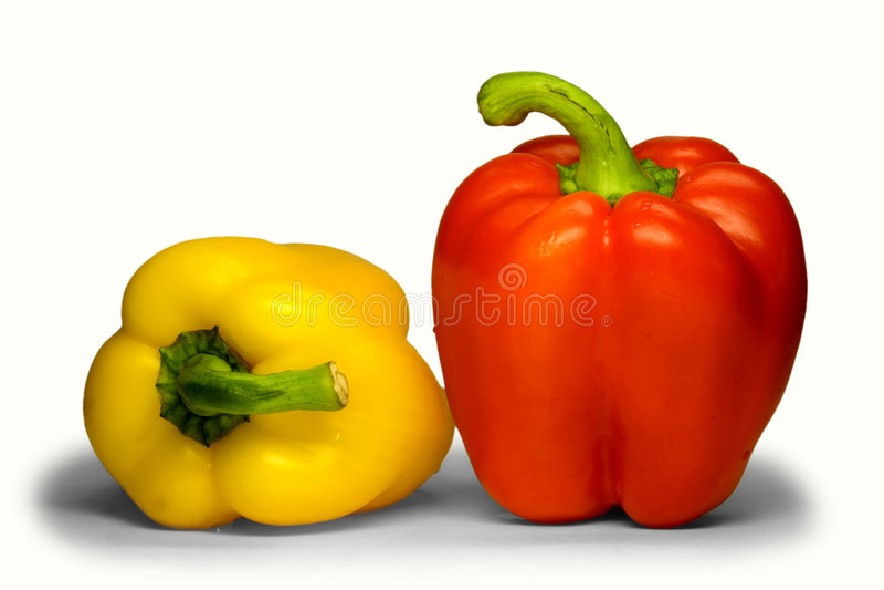 Sweet bulgarian pepper. stock image