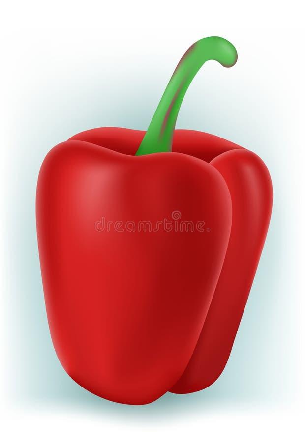 Download Sweet Bulgarian pepper stock vector. Image of design - 25372121
