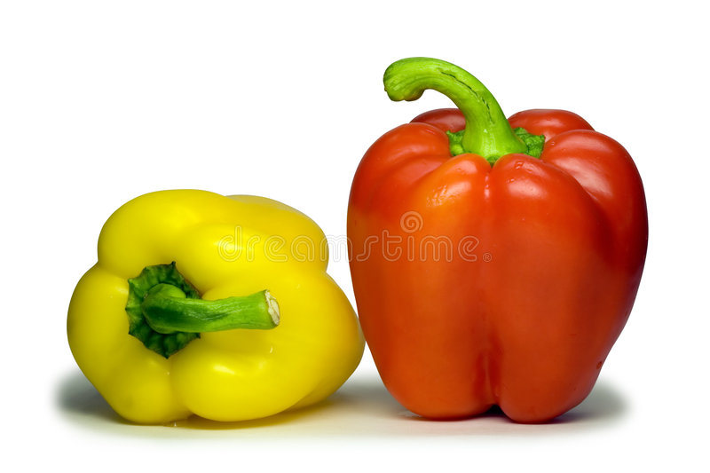 Download Sweet Bulgarian Pepper (with Clipping Path). Stock Image - Image: 1948081