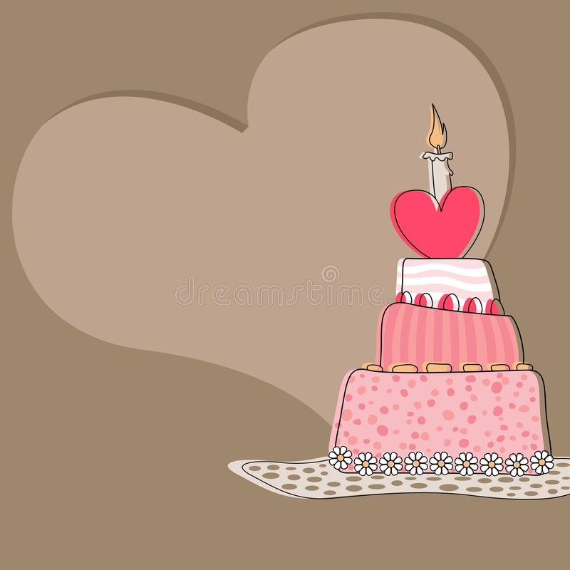 Download Sweet Cake stock vector. Illustration of illustration - 27175889