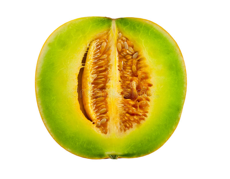 Sweet cantaloupe. From the market in Thailand stock photography