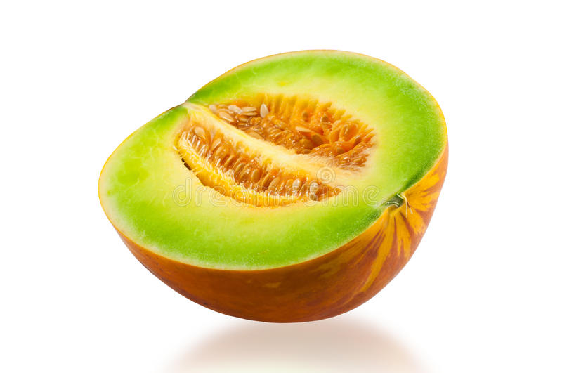 Sweet cantaloupe. From the market in Thailand royalty free stock image