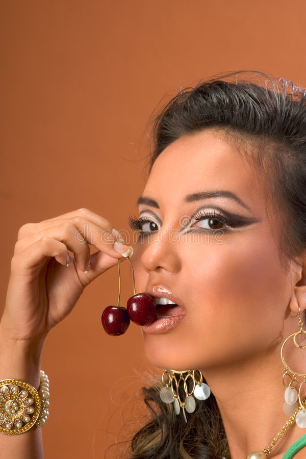 Download Sweet cherries stock image. Image of food, attractive - 3714483