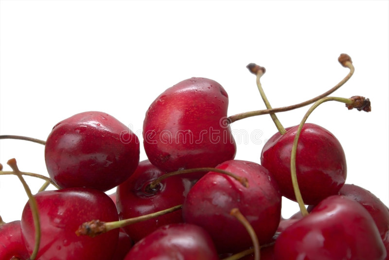 Download Sweet cherries stock image. Image of delicious, detail - 6602861