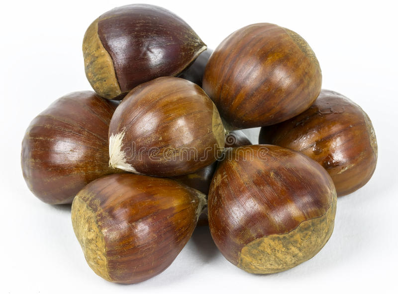Download Sweet chestnuts stock photo. Image of background, horizontal - 27159740