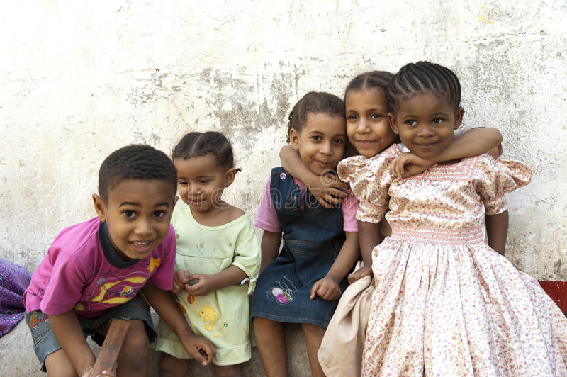 Children in Zanzibar. Best friends in Zanzibar, Africa stock photos