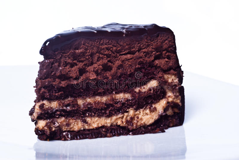 Download Sweet chocolate cake stock photo. Image of bread, icing - 38126438