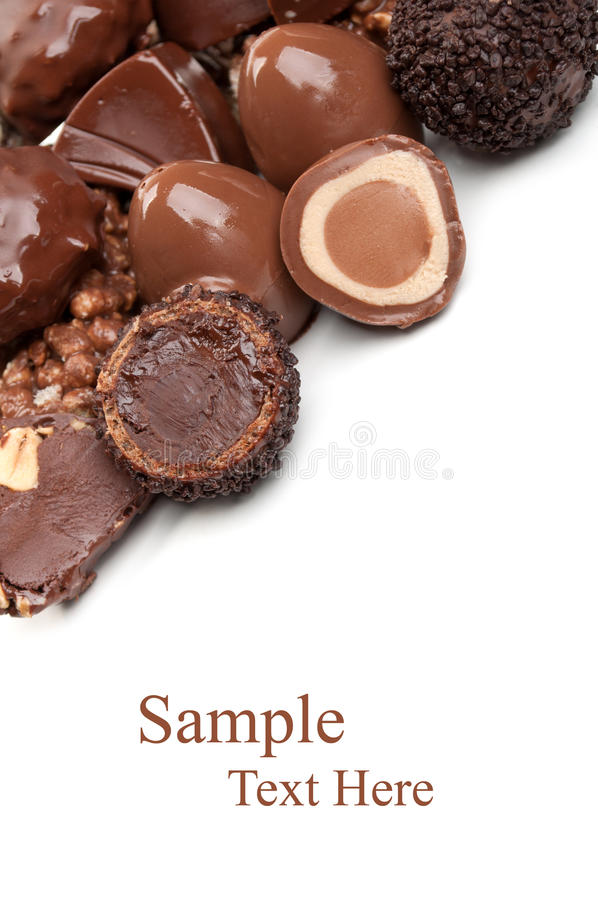 Sweet chocolate candy royalty free stock photography