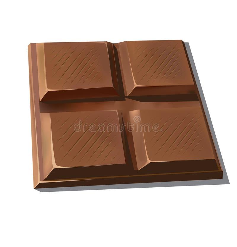 Sweet chocolate stock illustration