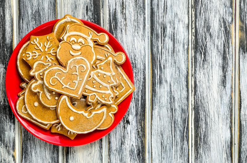 Download Sweet Christmas pastries. stock photo. Image of food - 107263270