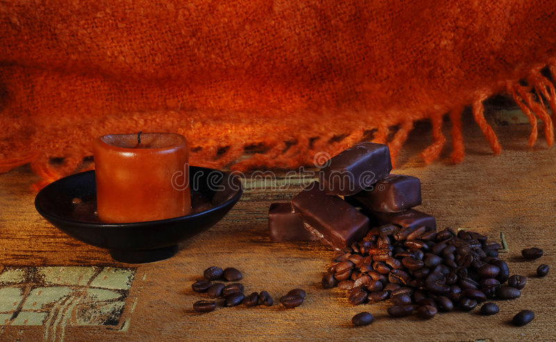 Sweet cofee stock photo