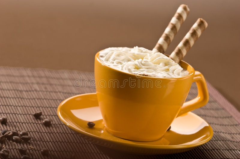 Sweet coffee royalty free stock photography