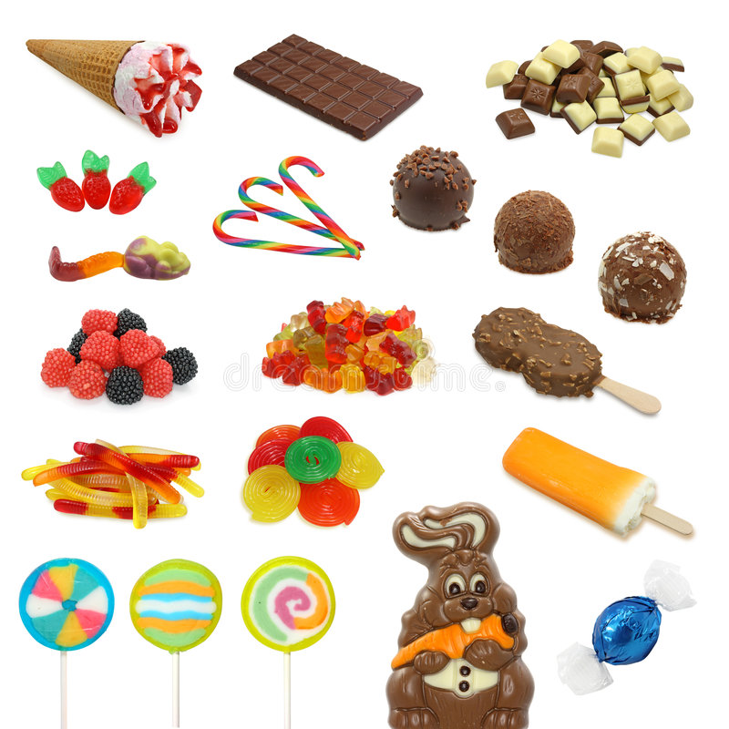 Free Sweet Collection Stock Photography - 5267952