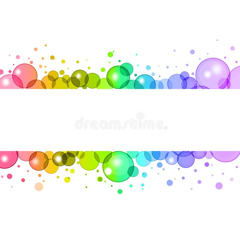 Sweet colorful cover design,illustration on white background. stock illustration