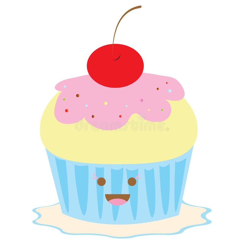 Download Sweet cupcake stock vector. Illustration of child, cupcake - 16419647