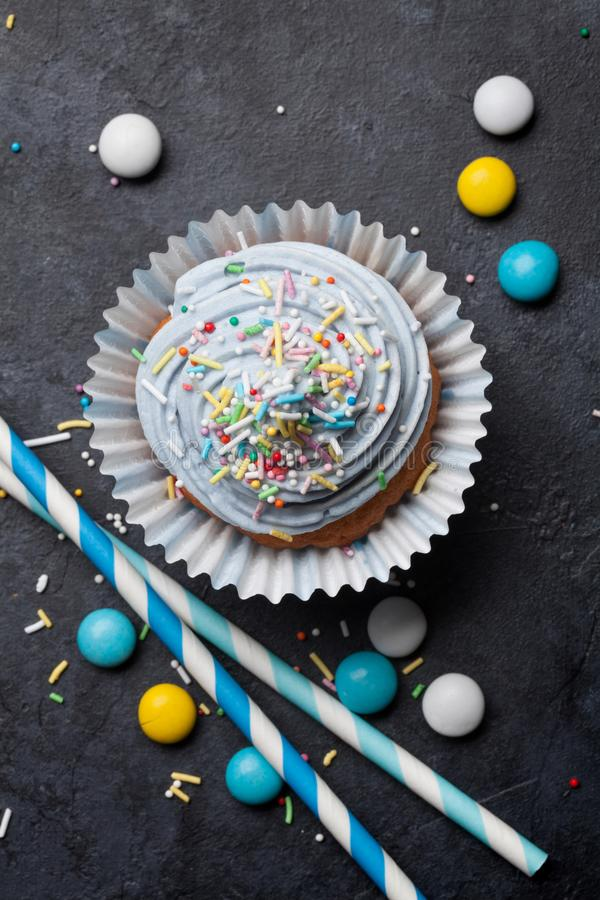 Sweet cupcake royalty free stock photo