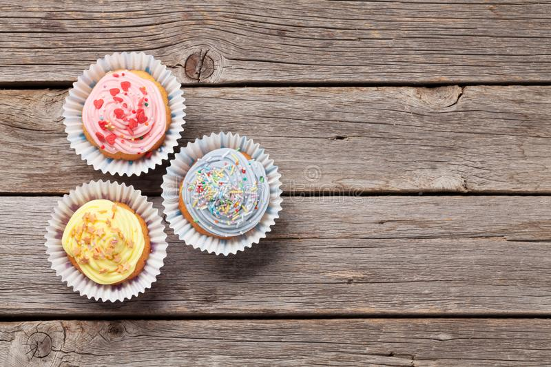 Sweet cupcakes royalty free stock image
