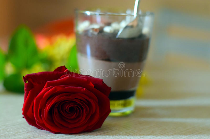 A sweet and delicious love royalty free stock photography