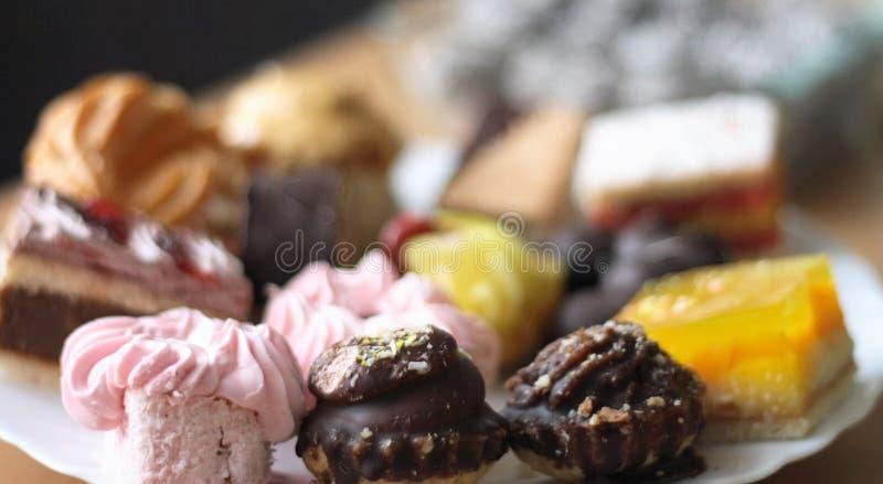 Sweet deserts stock photos