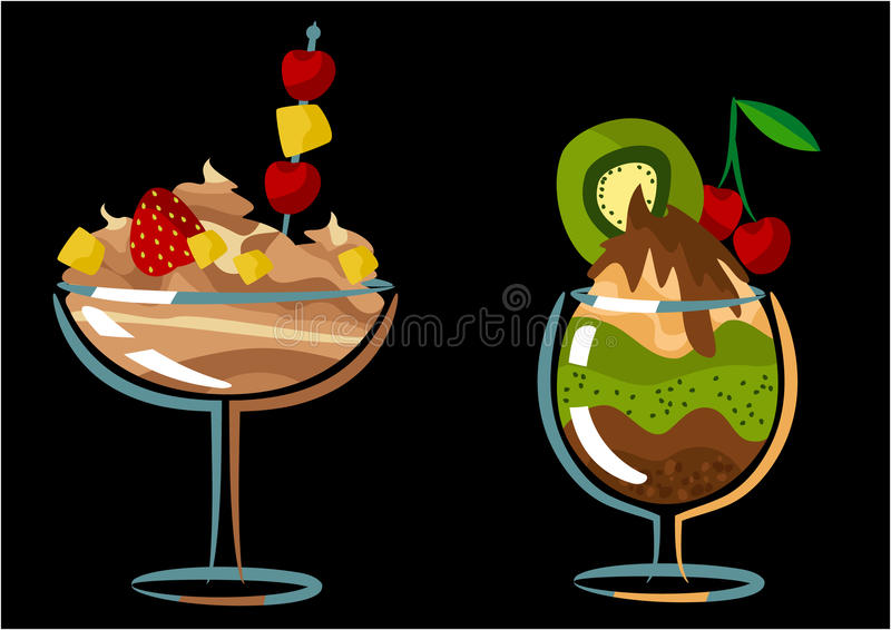 Sweet dessert royalty free stock images