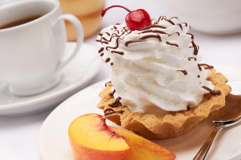Download Sweet dessert stock image. Image of meal, tarte, white - 21393427
