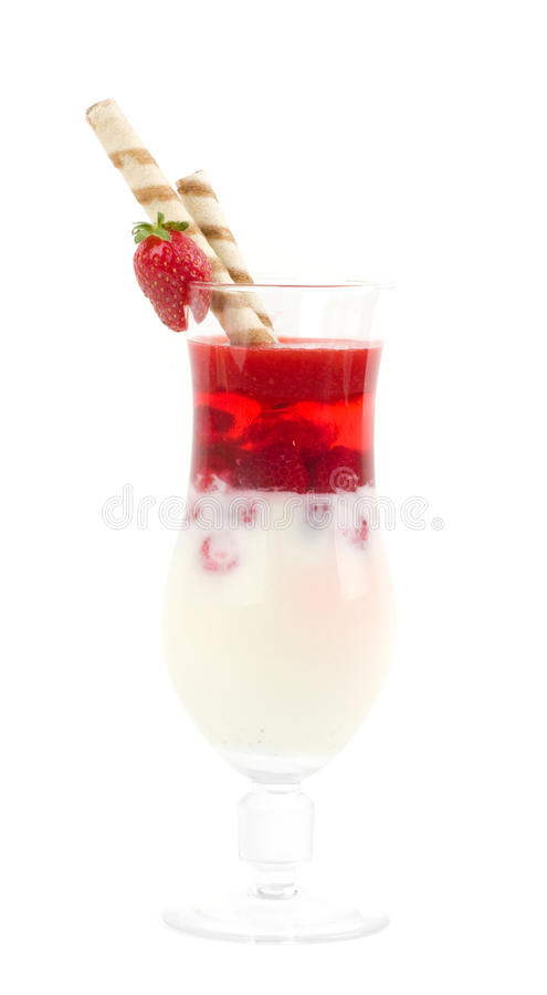 Download Sweet Dessert With Strawberry Stock Photo - Image: 25664066