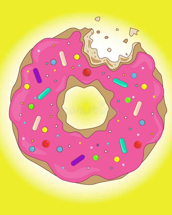 Sweet Donut Stock Photography