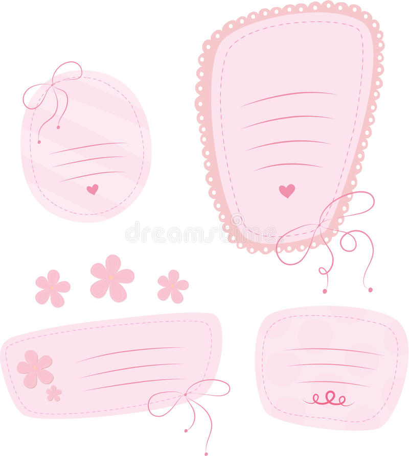 Download Sweet doodles frames. stock vector. Image of drawing - 14853329