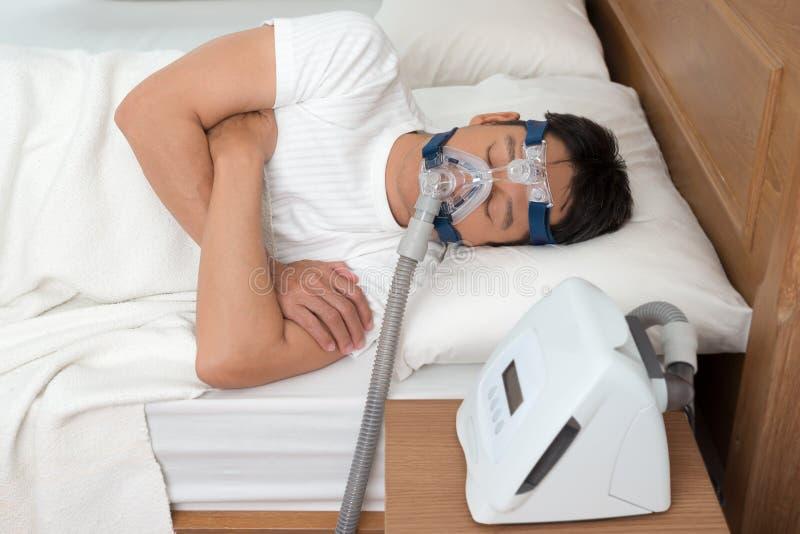 Sweet dream during long deep sleep. stock photos