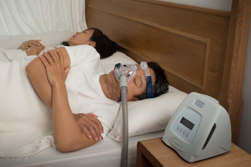 Sweet dream during long deep sleep. stock photo
