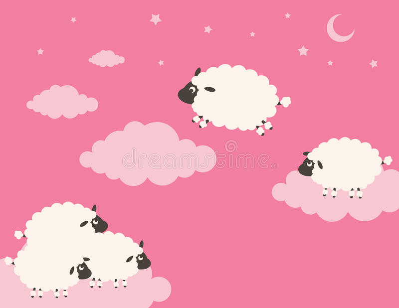 Download Sweet Dreams stock vector. Illustration of boundary, flying - 10378448