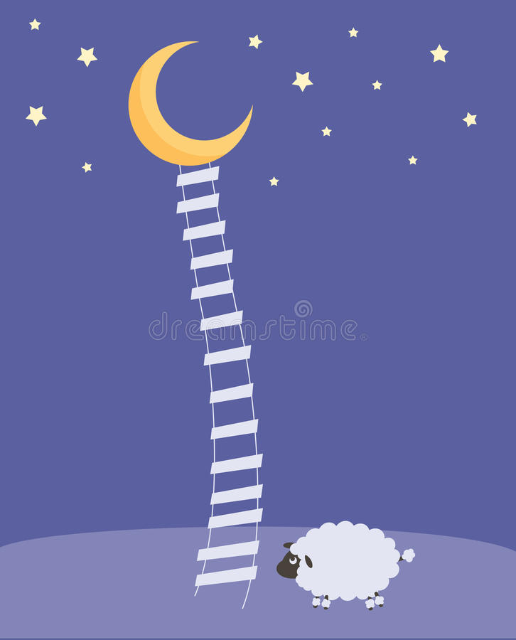 Download Sweet Dreams stock vector. Illustration of counting, cute - 11923719
