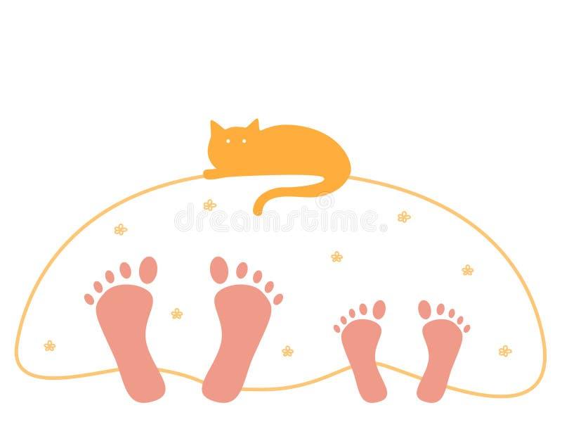 Sweet dreams royalty free illustration